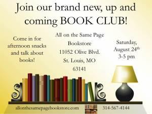 aotsp book club flyer